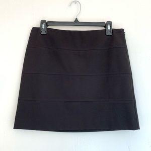 White House Black Market Micro Mini Skirt Black